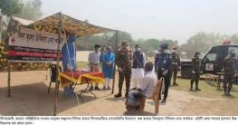 করোনা: নীলফামারীতে সেনাবাহিনীর মতবিনিময় ও মেডিক্যাল ক্যাম্প