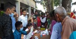 আটোয়ারীতে দুস্থদের মাঝে বিনামূল্যে চিকিৎসা সেবা প্রদান